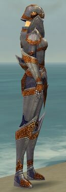 Warrior Platemail Armor F dyed side alternate