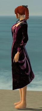Elegant Long Coat F dyed side