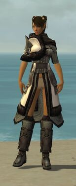 Ranger Norn Armor F gray chest feet front
