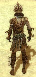 Razah Ancient armor back
