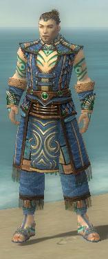 Monk Elite Luxon Armor M dyed front
