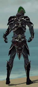 Necromancer Elite Necrotic Armor M dyed back