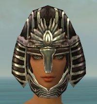 File:Warrior Ancient Armor F gray head front.jpg