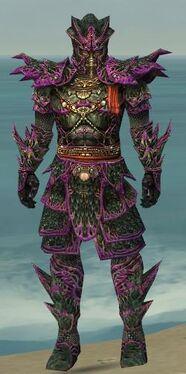 Warrior Elite Luxon Armor M dyed front