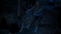 Zac using telekinesis to push Lyla away