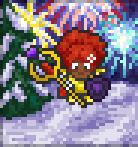Promo winter fireworks