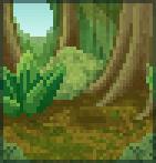 Background rainforest
