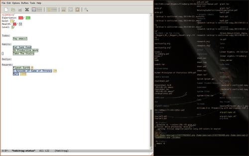 OrgMode Screenshot