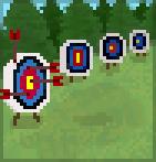 Background archery range
