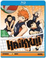 Haikyu!! - Collection 1 Sub.Blu-Ray