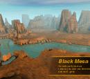 Black Mesa desert
