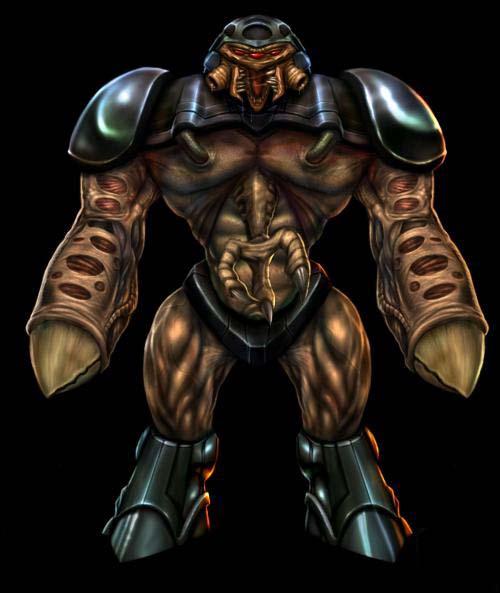 Image - Alien grunt concept black.jpg | Half-Life Wiki ...