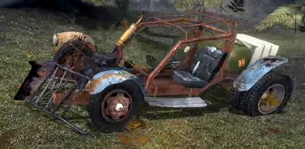 Half Life  Scout Car