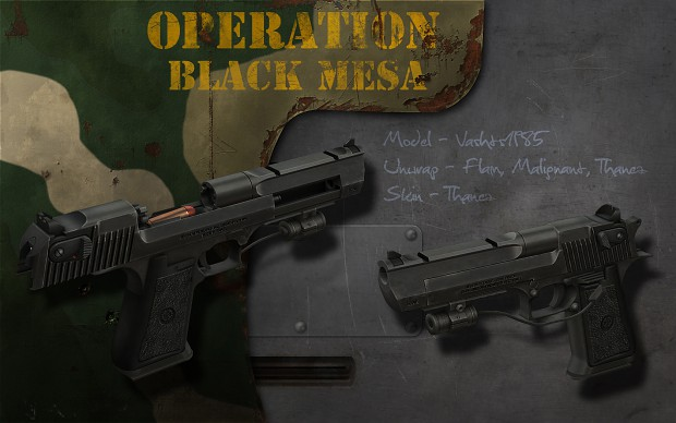 Image desert half life wiki fandom powered for Operation black mesa download