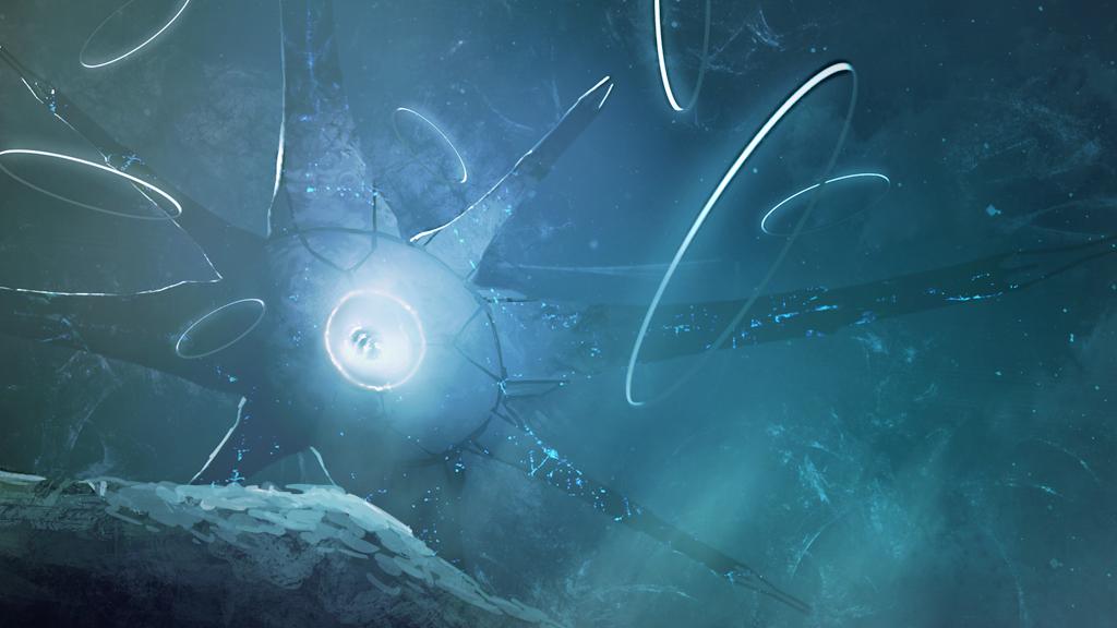 Halo Ring World Wallpaper
