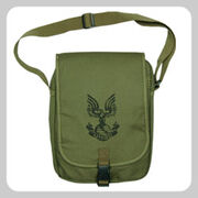 UNSC Canvas Messenger Bag Small