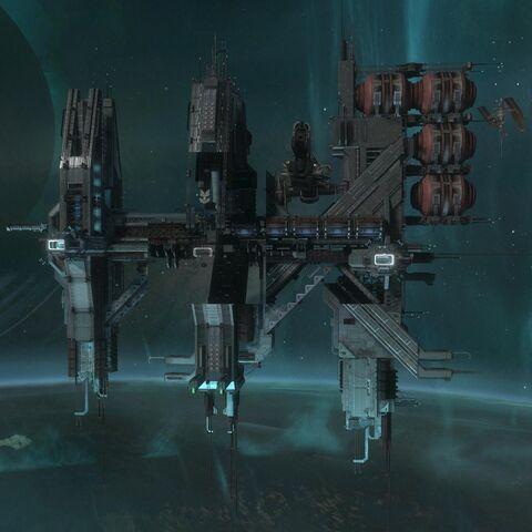 La stazione spaziale di Anchor 9