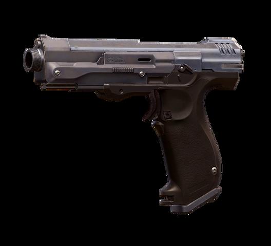 File:H5G Render M6H2Magnum-GunfighterMagnum.png
