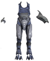 H2A CinematicRender JackalCombatHarness-FrontView