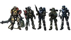 Halo Reach Character Concept by overburden