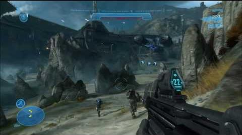 Halo: Reach E3 Campaign Demo