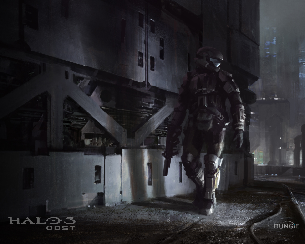 Awesome Halo 3: ODST Concept Art Pictures