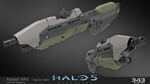 H5G Render-HighRes-Model AssaultRifle-Recon2