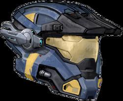 Carter's helmet coloured