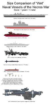 Necros Naval vessels