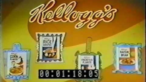 The Banana Splits Adventure Hour 1969 titles and opening Kellogg's ad