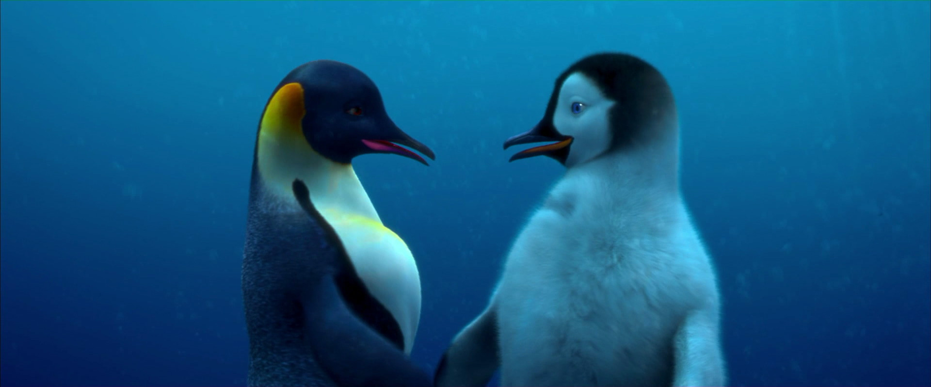 Happy Feet Mumble And Gloria From the start  Mumble is