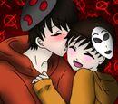 Origin of Hoody and Masky - By RoseRyuzaki