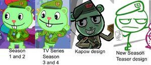 Flippy designs