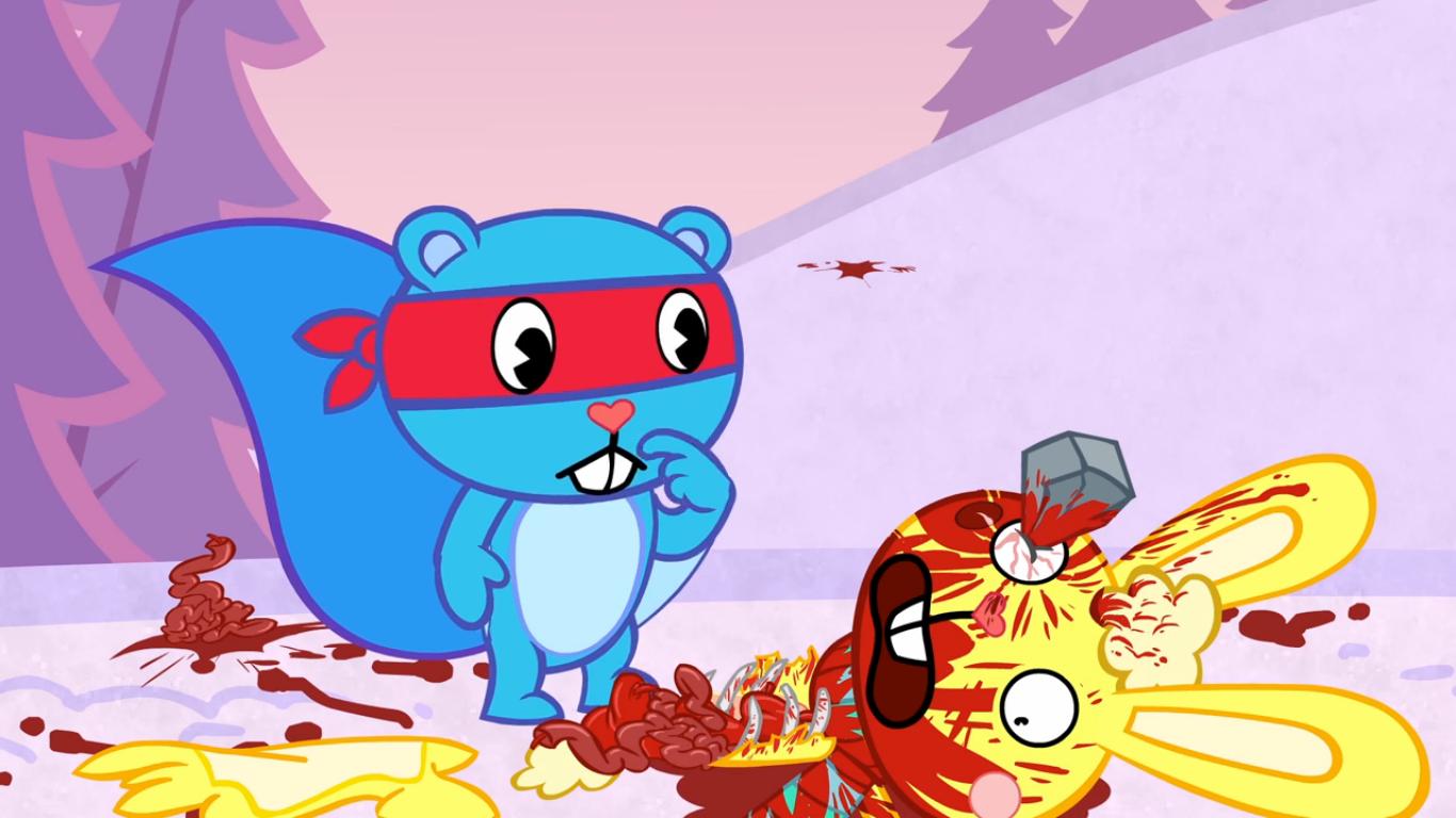 Happy Tree Friends Characters Flaky - 0425
