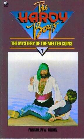 The Mystery of the Melted Coins Armada 1984 cover