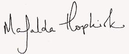 Mafalda Hopkirk sig.png
