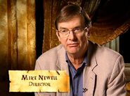 Mike Newell (HP4 Director - discussing The Lake)