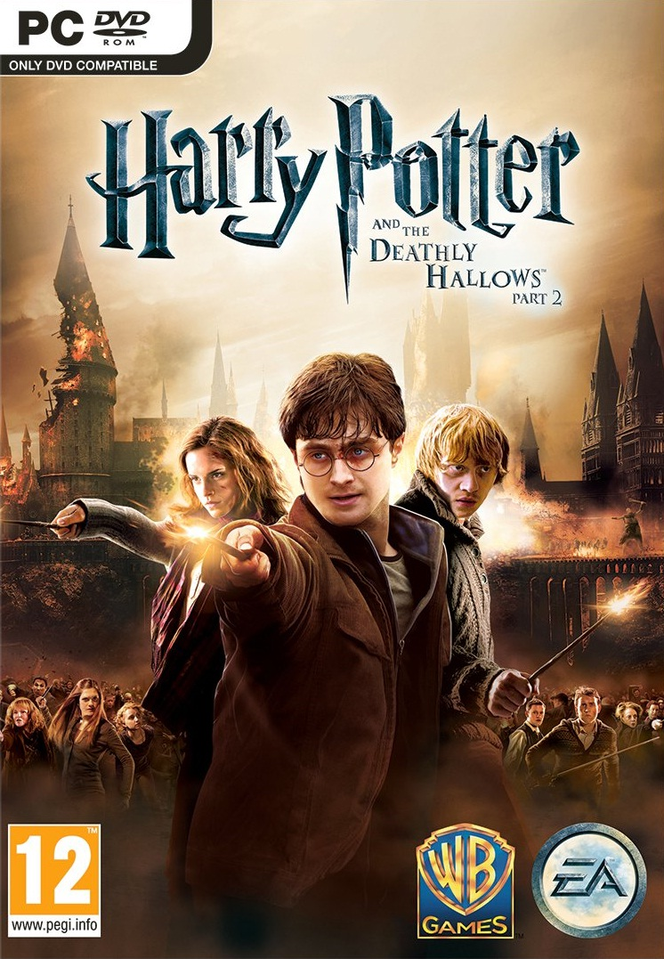 Harry potter and the deathly hallows part 2 video game harry