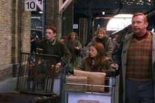 The Weasleys at King's Cross