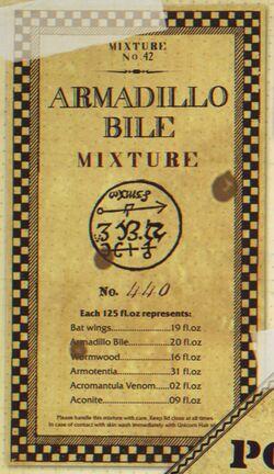 Armadillo Bile Mixture