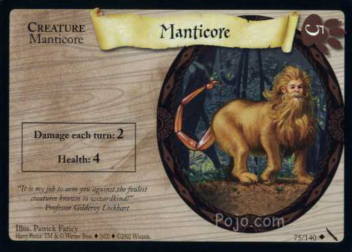 File:Manticore (Harry Potter Trading Card).jpg