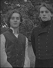 Gellert Grindelwald and Albus Dumbledore