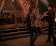 Harry and Hermione dancing inside the tent 01