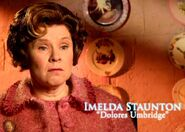 Imelda Staunton (Dolores Umbridge) HP5 screenshot