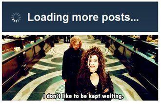 I dont like to be kept waiting