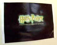 Harry Potter films - Logo of Creatures and Make-up Effects department
