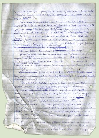 File:Very early draft of Philosophers Stone (Page 1).jpg