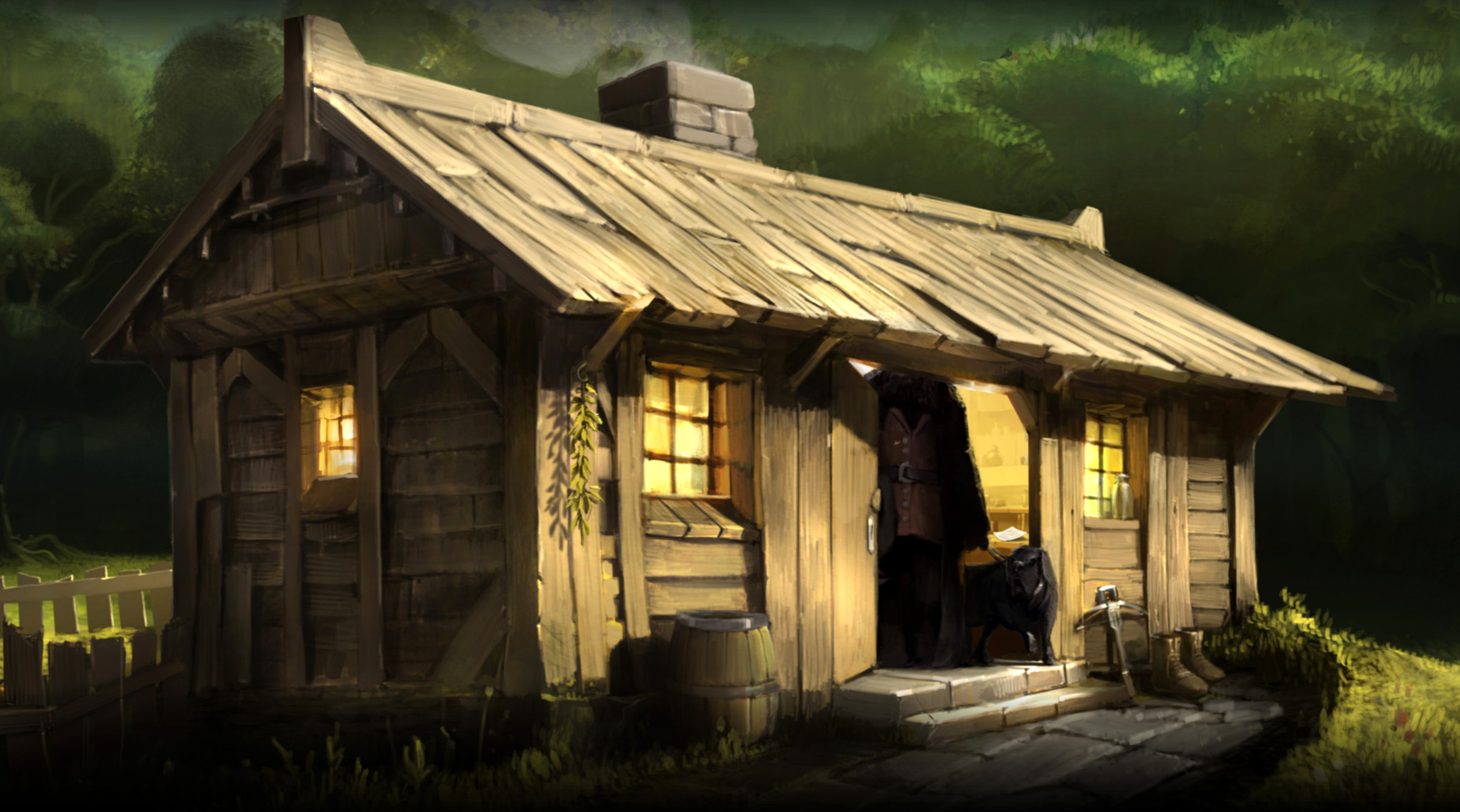 Hagrid 39 s hut harry potter wiki fandom powered by wikia What house was hagrid in