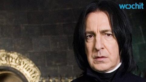 Harry Potter's 'Severus Snape' Alan Rickman Dies Age 69