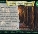Moaning Myrtle's Bathroom (Trading Card)